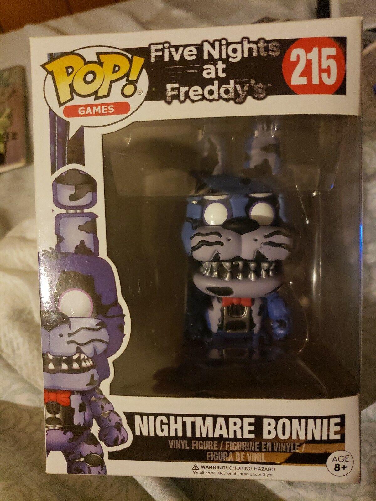 Games Five Nights at Freddy/'s Funko Pop NIGHTMARE FREDDY #111 Loose