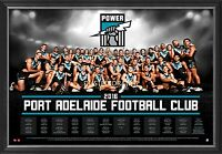 Port Adelaide Football Club 2016 Official Afl Team Print Framed Wingard