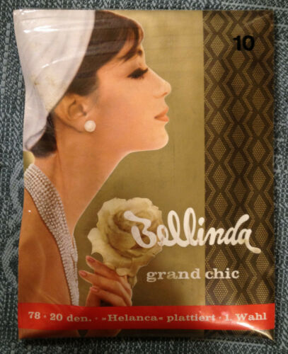 Belinda Grand Chic 10/'/' 2 pairs Textured Dimond Motif Stockings Black Strümpfe