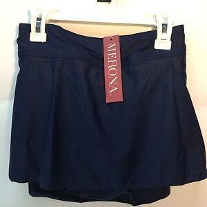 New-Womens-Swim-Skirt-by-Merona-Black-Navy-All-sizes