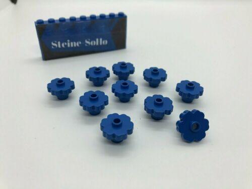 1x1 Pflanze 98262 mit Blätter blau Blatt Lego ® 10x Blüte