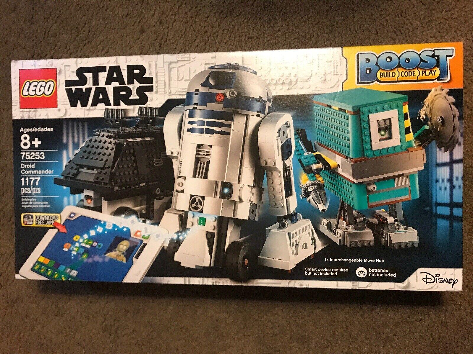 Lego estrella guerras 75253 Ultimate  Galaxy Boost Droid Comuomoder Interactive Robot Set  consegna gratuita
