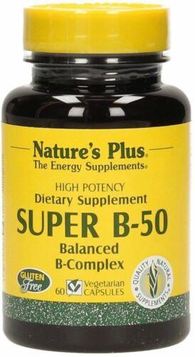 Super B-50 Natures Plus 60 Kapseln EUR 31.17//100 g