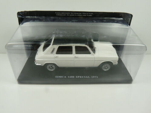 Special 1973 Roof Vinyl Simca 1200 1100 VQ18 Car 1//24 Salvat Models