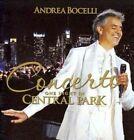 Andrea Bocelli Concerto One Night in Central Park 2cds 2011