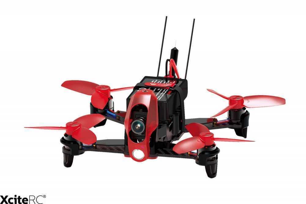 Walkera FPV racing quadrocopter rodeo 110 RTF robot con HD-cámara, batería, transmisor