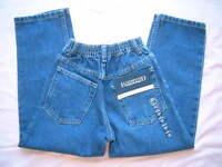 Lands End Boys 5 Pocket Jeans Elastic Waist Easy On Off - 4 4t, 5, 6 Or 7