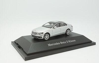 #b66960373 - Wiking Mercedes Classe E (w213) Exclusive-argento - 1:87-mostra Il Titolo Originale Le Merci Di Ogni Descrizione Sono Disponibili