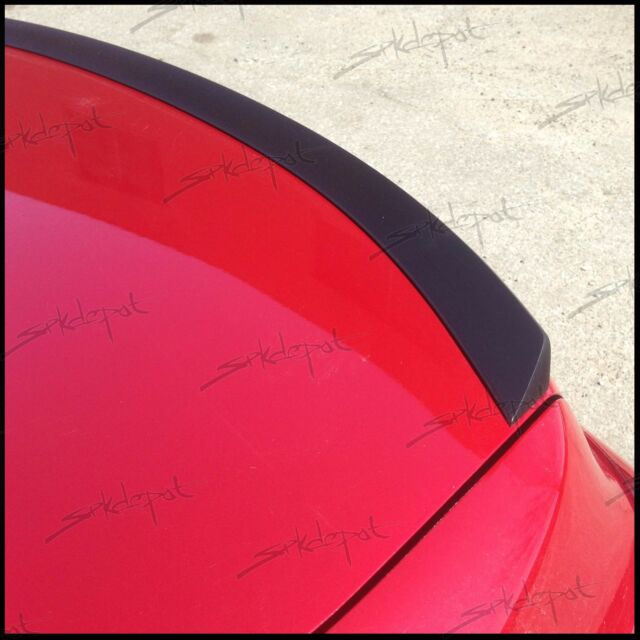 (818L) Rear Trunk Spoiler Lip Wing Unpainted USA (Fits