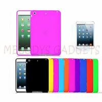 iPad Mini Cover PLUS Screen Protector Soft Gel Skin Silicone Rubber Case Protect