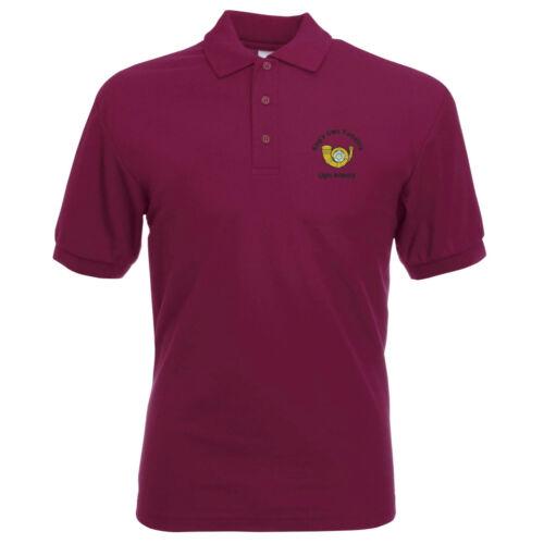 Kings propre Yorkshire light infantry Polo Shirt