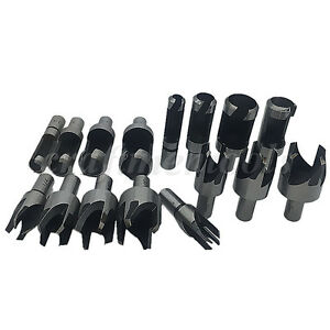 Plug And Dowel Cutter Bits Wood Drill Bits Brand New