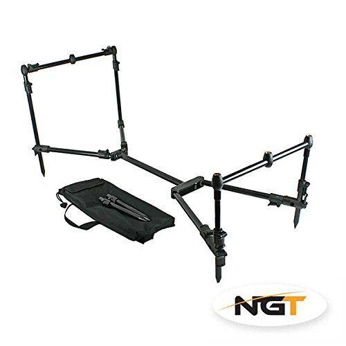 NGT Nomades Pied    Repos Support Pêche à la Carpe Réglable Pliable Léger Mer  best prices and freshest styles