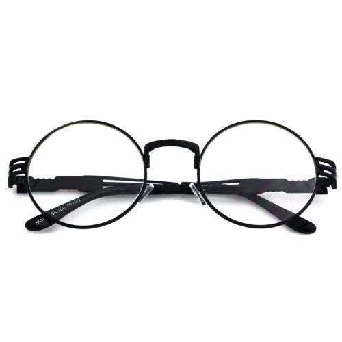 Men/'s Women VINTAGE RETRO 60/'s LENNON Style Clear Lens EYE GLASSES