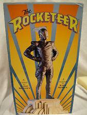 THE ROCKETEER Faux BRONZE STATUE By KENT MELTON & Randy BOWEN 1999 bust Figurine