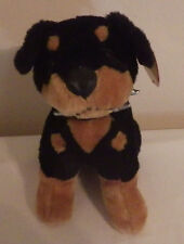 "Boston Terrier Puppy Dog Toy Network 2005 NWT 9"" Plush Stuffed Animal Toy"
