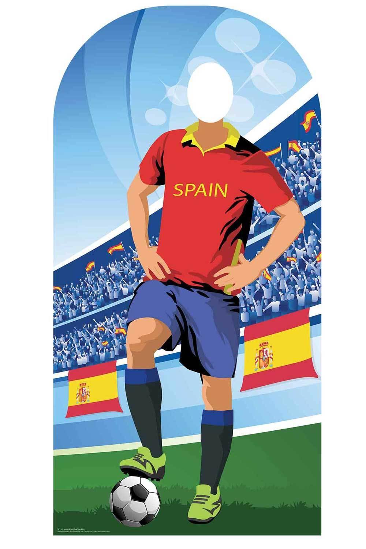Weltcup 2018 Spanien Fußball Pappfigur Stand-In - Lopetegui Sergio Ramos | Sonderpreis  | Mama kaufte ein bequemes, Baby ist glücklich