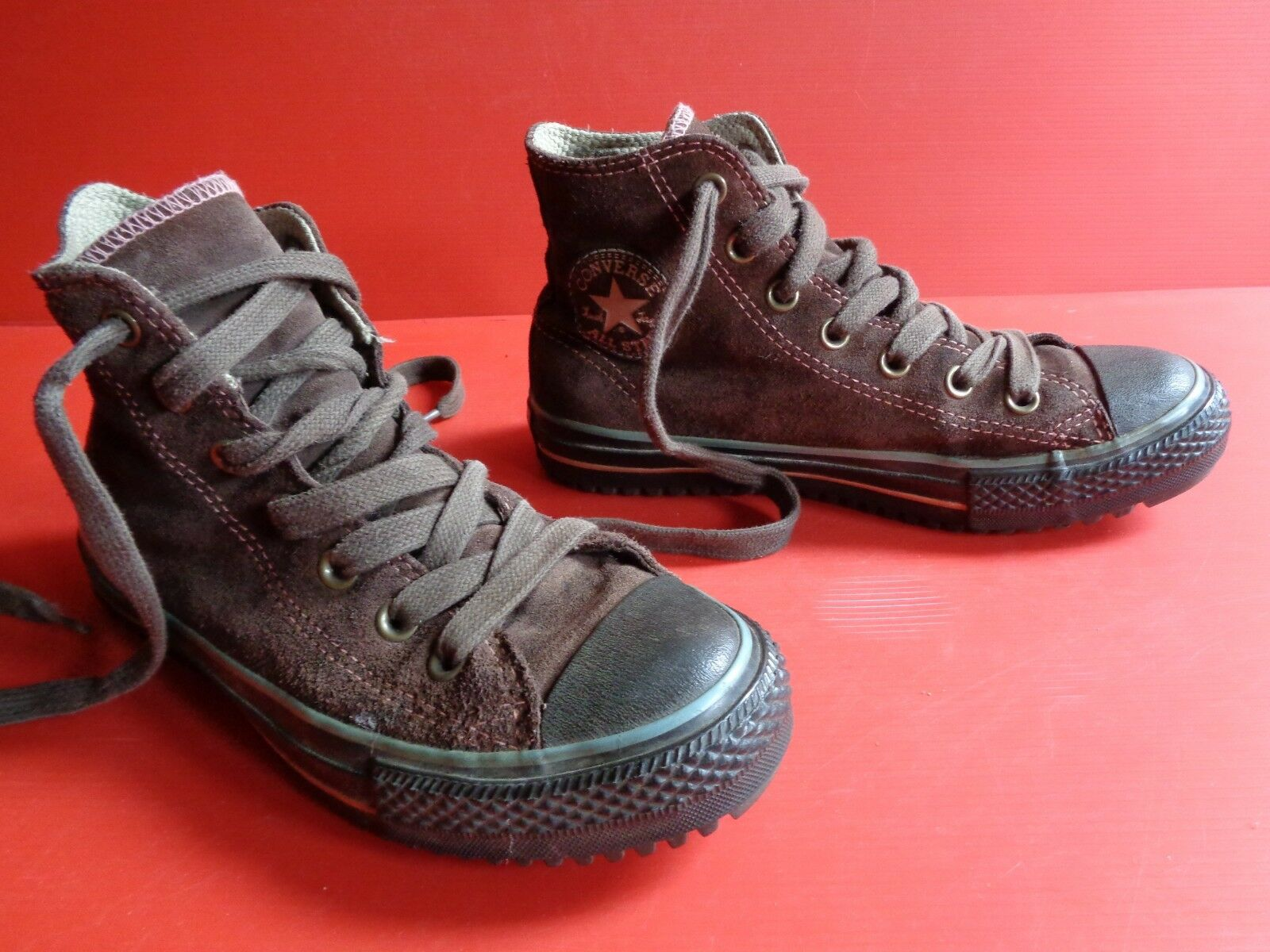 Converse Chucks All Star Wildleder Nr.15 braun Gr.37 (4½) Nr.15 Wildleder unisex 7cf2bb
