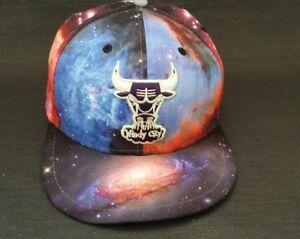 159cb32260d New Era Chicago Bulls Windy City Galaxy Print Fitted Hat 7 1 2