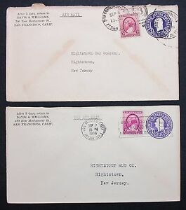 US-Cover-Postal-Stationery-2-Piece-Stationery-Rnd-2-Letters-I-6464