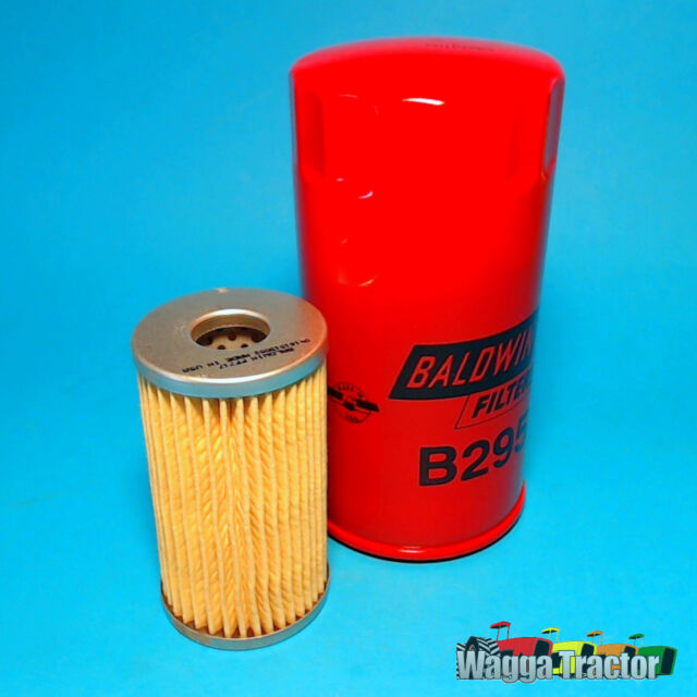 FLK3515 Oil Fuel Filter Kit Ford 1900 1910 2100 Compact Tractor by IHI Shibaura