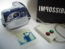 Rare Polaroid P 600 Camera Nightcam / Sofortbild Kamera IMPOSSIBLE PROJECT