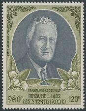 LAOS PA N°67*  Franklin Roosevelt, 1970 LAOS Sc#C68 MH