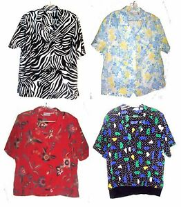 Alfred-Dunner-Short-Sleeve-Spring-and-Summer-Tops-Plus-Size-16-to-20