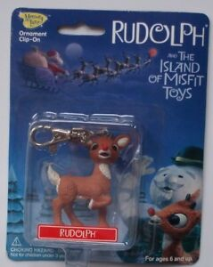 RUDOLPH-Clip-On-Keychain-Ornament-Island-Misfit-Toys-Rudolph-PLAYING-MANTIS