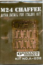 Ordance Models 1:35 M24 Chaffee Extra Detail for Italeri Kit - PE Update #A032