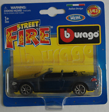 Bburago - BMW 645Ci Cabrio dunkelblaumet. 1:43 Neu/OVP Blister