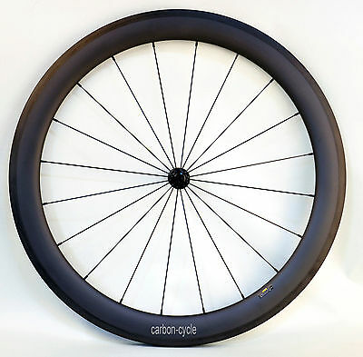 Sapim CX Carbon Clincher Road Front Wheel Basalt 700C U-shape Bike T800 Rim 56