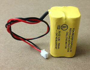 Emergency-Light-Exit-Sign-4-8V-700mAh-NiCad-Battery