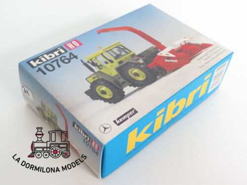 Details about  /Kibri 10764 h0 mercedes benz tractor with collector kemper-new show original title