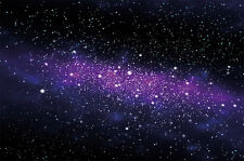 Galaxie Fototapete Weltraum Wandbild Sternenhimmel XXL Wanddeko Kind XXL Poster