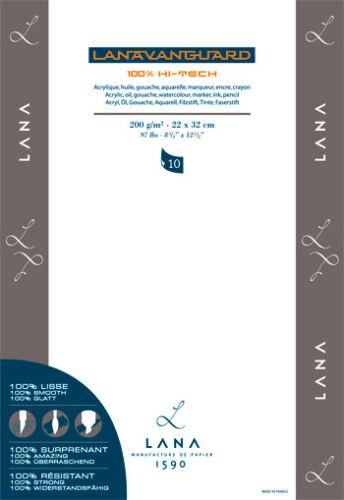Lana Vanguard Polypropylene Paper Pad 10 Sheet 48x34cm