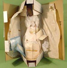 "Franklin Mint Heirloom The Gibson Girl Anniversary BRIDE Porcelain Doll 22""~Box"