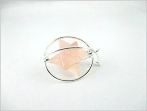 Jet-Rose-Quartz-Spinning-Merkaba-Pendant-Star-Reiki-Energy-Sacred-Metaphysical