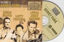 CD CARDSLEEVE 25T HONKY TONK MERLE TRAVIS/LEFTY FRIZZELL/LITTLE JIMMY DICKENS