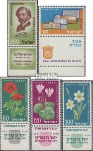 Never Hinged Do You Want To Buy Some Chinese Native Produce? Unmounted Mint Israel 176,177,179-181 With Tab complete.issue.