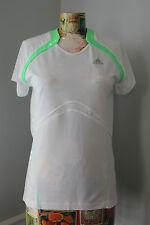 Adidas Womens Clima365 Short Sleeve Snova Green Running Top L Training  NWT $38