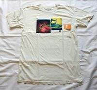 Quiksilver Men's T Current Style In Stores Now 100% Authentic Fish White