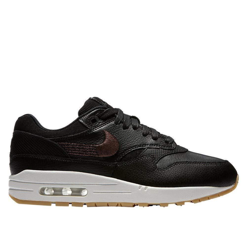 Nike Air Max 1 Premium Black Black-Gum Yellow (WS) (454746 020)