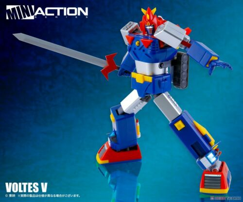 Trasformabile! Robot Figure Chodenji Machine VOLTES V Mini Action Toys N° 02