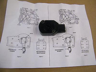 APPS TPS Throttle Position Sensor For 98-04 Dodge Ram Cummins Bell Crank 5.9L