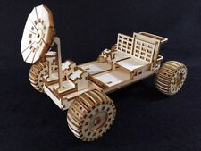 Laser Cut Wooden NASA Lunar Rover/ Moon Buggy Vehicle 3D Model/Puzzle Kit
