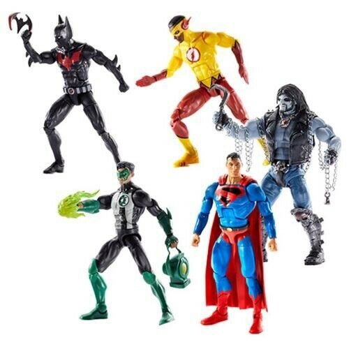 "DC Comics Multiverse-Wave 10- 6"" Action Figure Set BAF-LOBO (Lot of 4)"