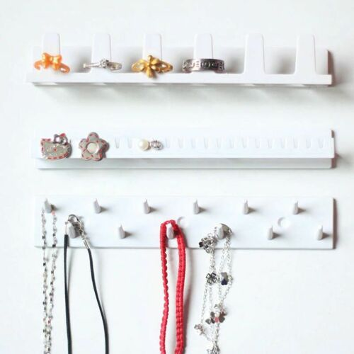 9pcs//Set Jewelry Wall Hanger Holder Stand Organizer Necklace Earring Ring Rack
