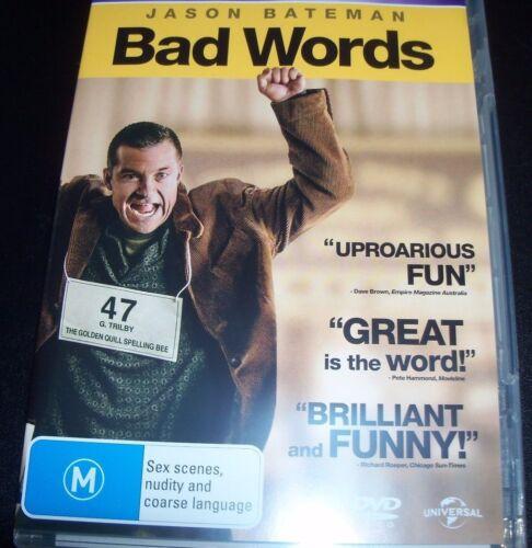 1 of 1 - Bad Words (Jason Bateman) (Australian Region 4) DVD – Like New