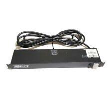 LOT OF6 TRIPP LITE RS-0615-R Power Strip Rackmount Metal 6 Rear Face Outlet 15A
